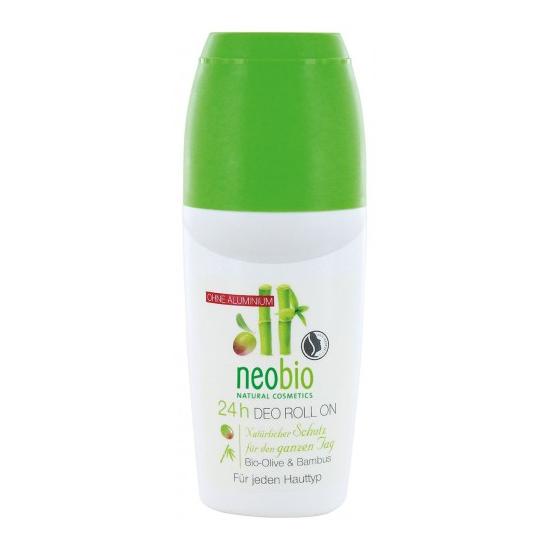 Neobio dezodorant w kulce bambusowo oliwkowy