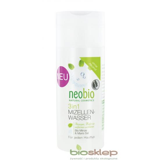 Neobio płyn micelarny do demakijażu 3 w 1 150ml