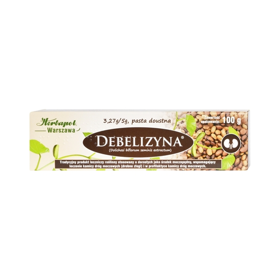 Debelizyna pasta doustna 100g
