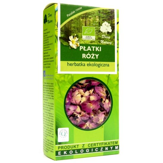 Dary Natury Herbatka z płatków róż 20g
