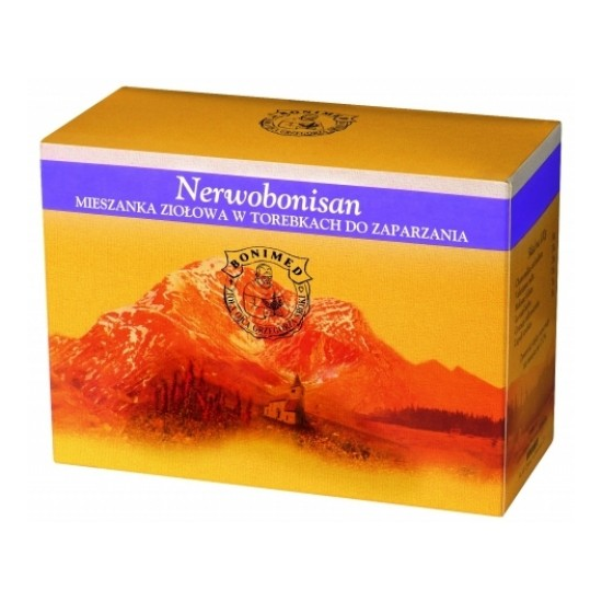 Bonimed Nerwobonisan - suplement diety herbata ziołowa