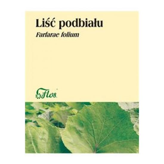 Liść podbiału, zioło pojedyncze Flos 50 g