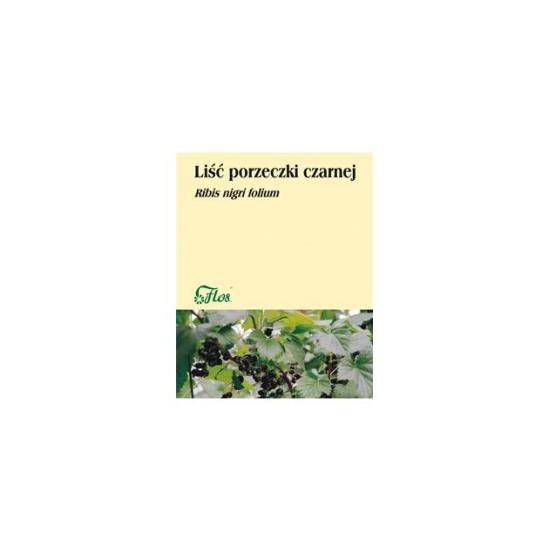Liść porzeczki czarnej, zioło pojedyncze Flos 50 g