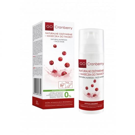 GoCranberry Naturalne Odżywienie - Maseczka do Twarzy