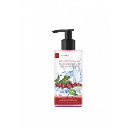 GoCranberry Delikatna Pielęgnacja – Żel Do Higieny Intymnej