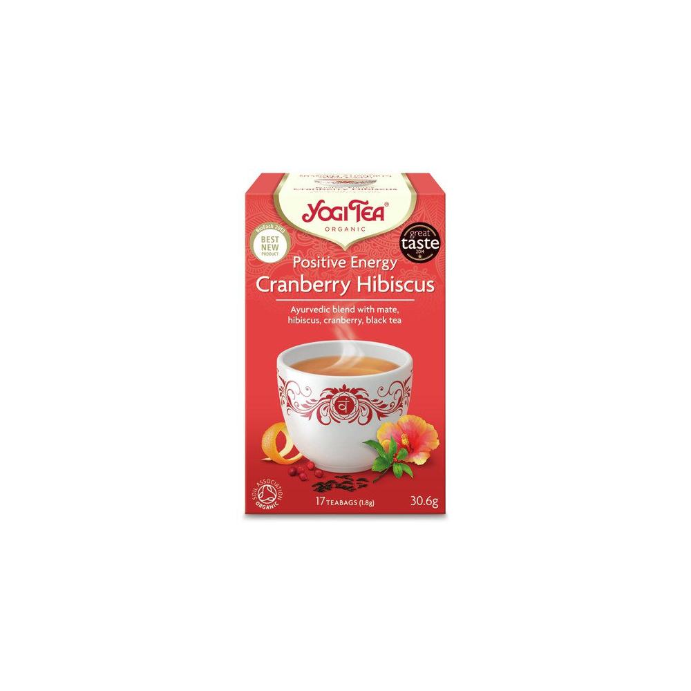 Yogi Tea Cranberry Hibiscus