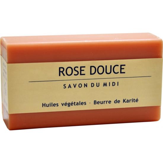 Savon du Midi Mydło Karite Słodka Róża 100g.