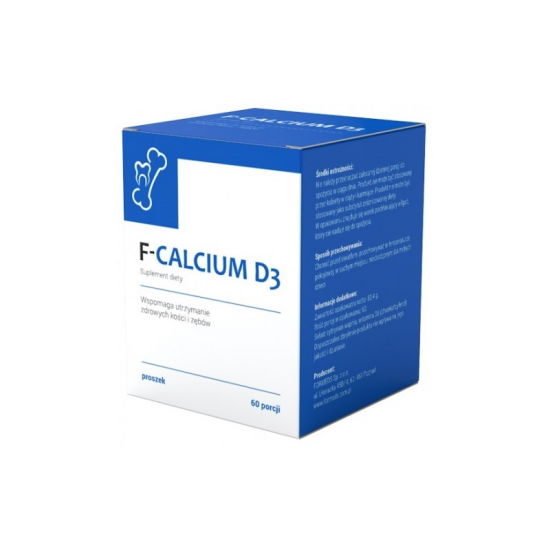 F-CALCIUM D3 60 porcji