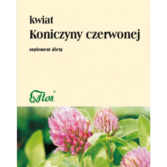 Flos Kwiat Koniczyny czerwonej 50g