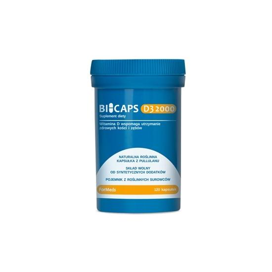 Formeds Biocaps D3 2000 kapsułki 120szt