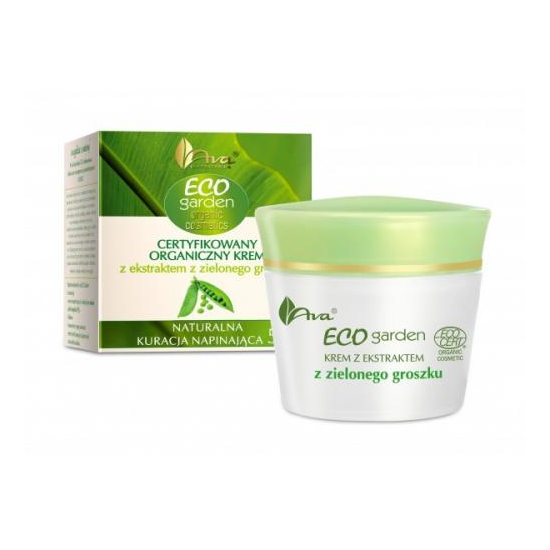 AVA Eco Garden krem z ekstraktem z zielonego groszku 50ml